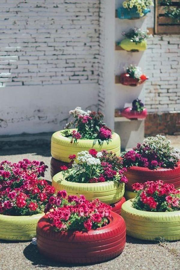 summer-painted-tire-garden-ideas
