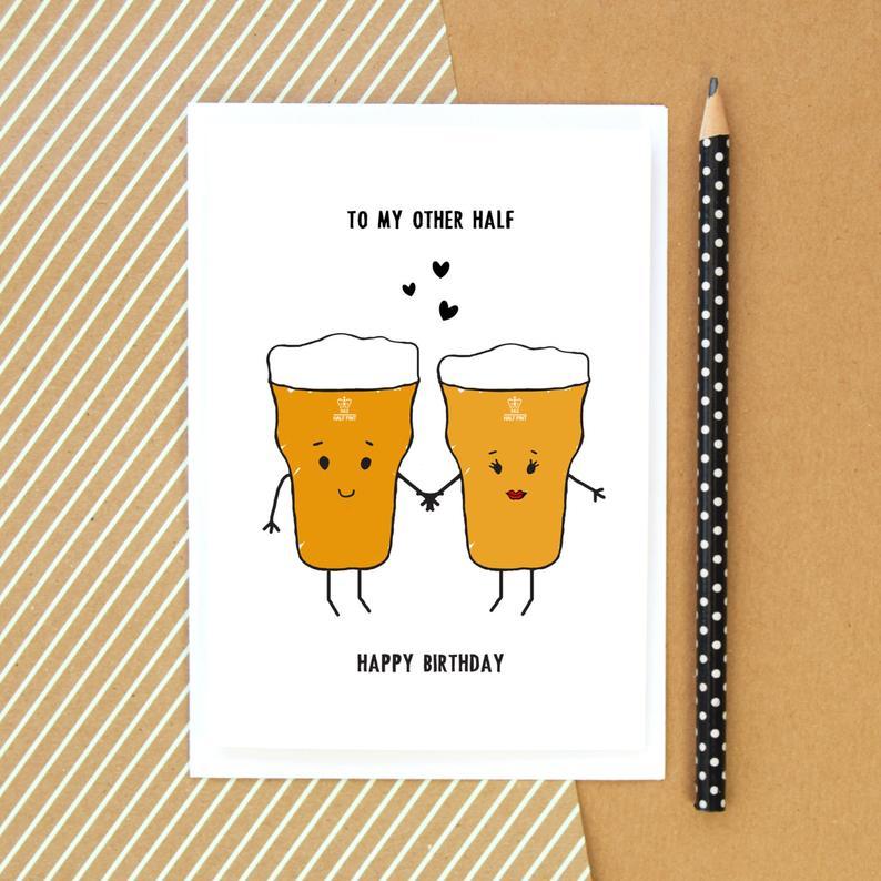 Birthday Cards DIY Husband