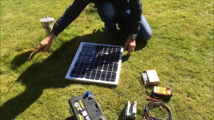 DIY Camping Solar Power System